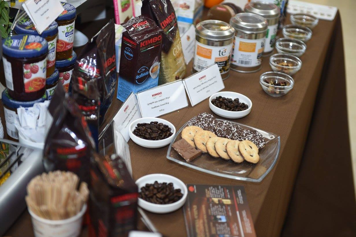 The First Coffee and Tea Festival was held at Homamart Trade Center